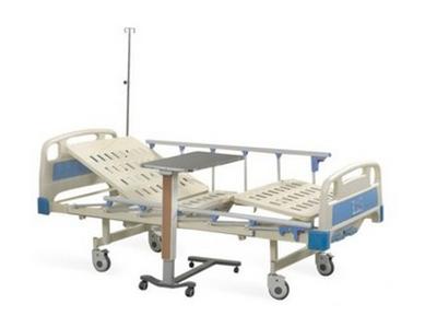 GD-A29护理床 医疗骨科病床 医疗不锈钢医用三摇分腿骨科牵引病床