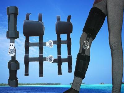 可调式卡盘膝关节固定支具韧带术后康复固定矫形器支具