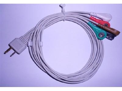 美高仪五导动态导联线-NEC五导动态导联线-迈瑞遥测导联线