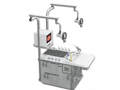 韩国进口耳鼻喉科治疗台NET-600A双工位耳鼻喉综合治疗台