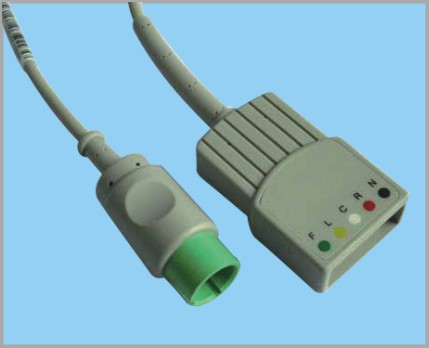 太空分体式监护心电5导缆线