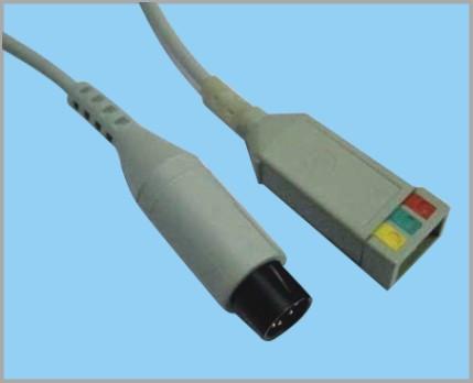 通用医疗PR1000分体式监护心电3导缆线