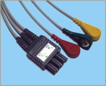 科林分体式监护心电3联线