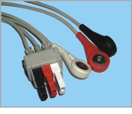 通用医疗PR1000分体式监护心电3联线