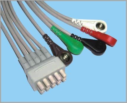 通用医疗GE分体式监护心电5联线