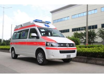 大众凯路威高顶监护型救护车