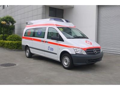 奔驰Vito122监护型救护车
