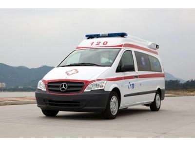 奔驰Vito119监护型救护车