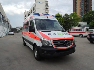 奔驰凌特324监护型救护车