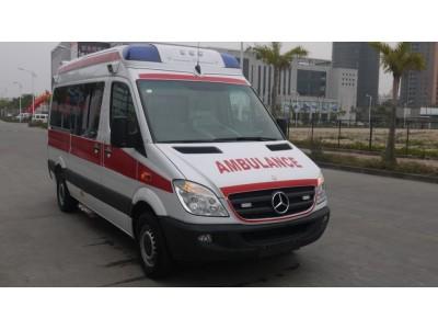 奔驰凌特315监护型救护车