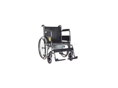 安键AJ-711B 供应功能型黑色爆花手动轮椅