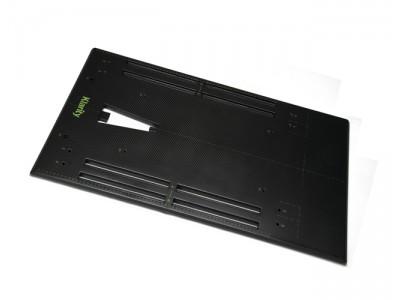 碳纤维体部平板底座