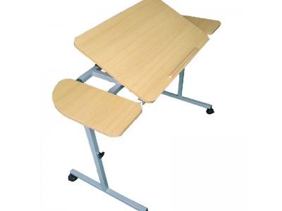 角度可调床边桌(带气动杆)