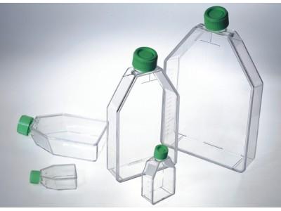 CAF012025细胞培养瓶 12.5cm2, 透气盖,CellATTACH超亲水表面处理,已消毒,10只/盒,200只/箱