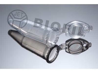 CFT011020  带锁扣微量离心管,2.0ml  本色, 圆锥底,已消毒,无DNA&RNA酶,500支/袋/盒,4000支/箱