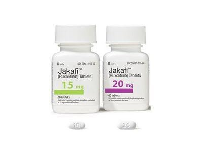 jakafi(ruxolitinib)鲁索利替尼片