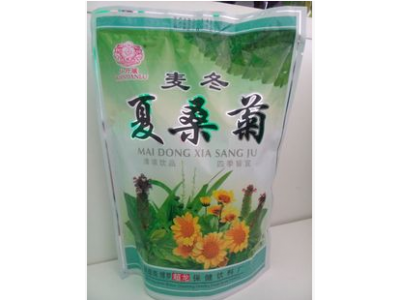 竹麦冬夏桑菊凉茶