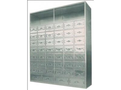 不锈钢中药柜 中药橱