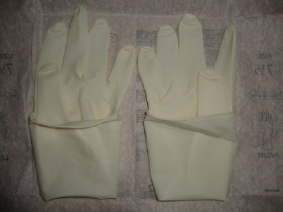 WRP温宝丽牌医用灭菌有粉手术橡胶手套