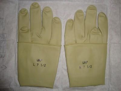 WRP温宝丽牌医用灭菌无粉手术橡胶手套
