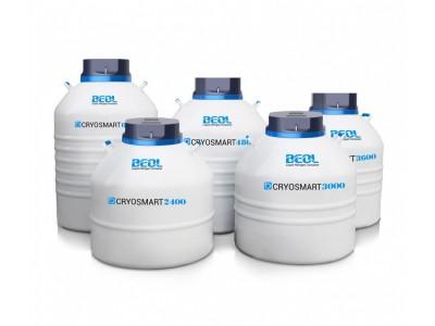 凯翔二代智联液氮罐铝制罐Cryosmart 600-6000/液位温度实时监控