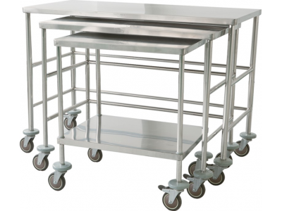 手术室器械台 304不锈钢医用器械台 工作台