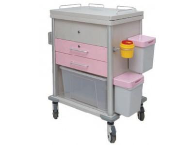 婴儿配奶车 UP-10075-A医用治疗车 不锈钢配奶车
