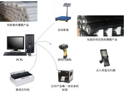 卫材薄膜自动称重条码管理系统