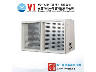 风道式中央空调空气消毒净化装置