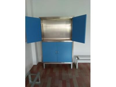器械柜表面静电喷塑