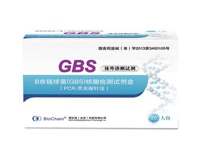 B族链球菌(GBS)核酸性测试剂盒(PCR-荧光探针法