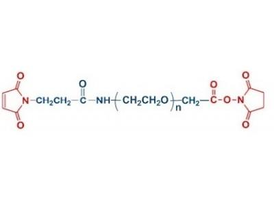 MAL-PEG-NHS 马来酰亚胺聚乙二醇 琥珀酰亚胺乙酸酯