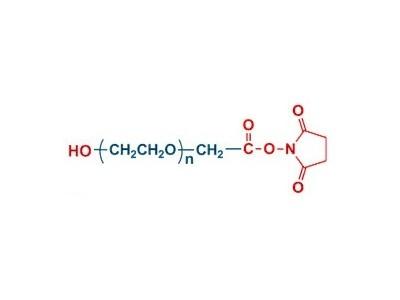 OH-PEG-NHS 羟基聚乙二醇 琥珀酰亚胺乙酸酯