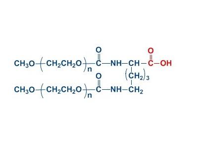 mPEG2-COOH 分枝单甲氧基聚乙二醇羧酸