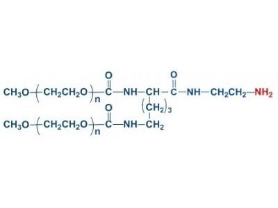 mPEG2-NH2 分枝单甲氧基 聚乙二醇胺