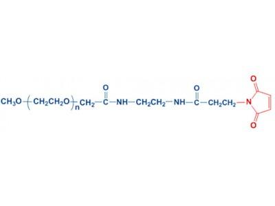 mPEG-AP-MAL 单甲氧基聚乙二醇 乙酰胺-丙酰胺 马来酰亚胺