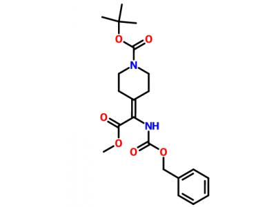 2-(1-Boc-4-亚基)-2-(Cbz-氨基)乙酸甲酯 313491-20-2