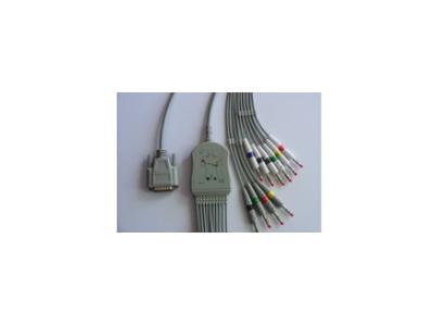 ECG-1350心电图机,BJ-961D心电导联线