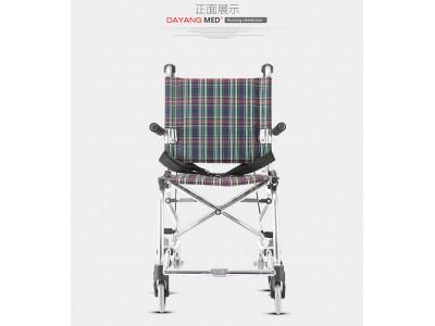 铝合金手动轮椅 19001