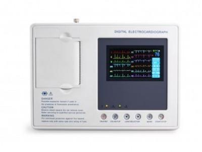 埃顿三道彩屏心电图机 ECG-3B