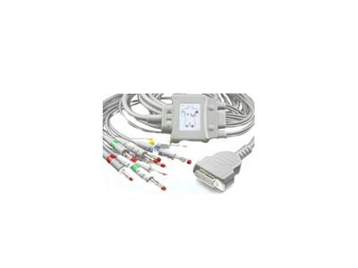 GE-Marquette 一体化十导心电图机导联线