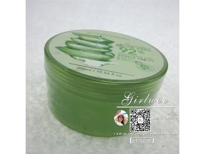 Nature Republic韩国自然乐园芦荟胶淡印 补水保湿面霜300ml
