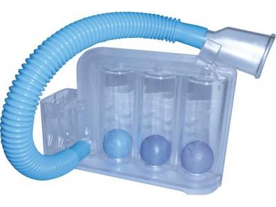 呼气吸气两用型呼吸训练器
