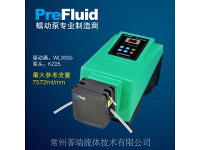 普瑞基本型蠕动泵-流量显示泵WL300b