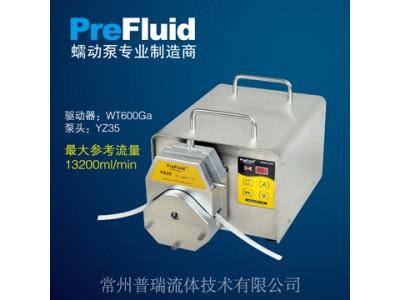 普瑞基本型蠕动泵-工业型蠕动泵WT600Ga