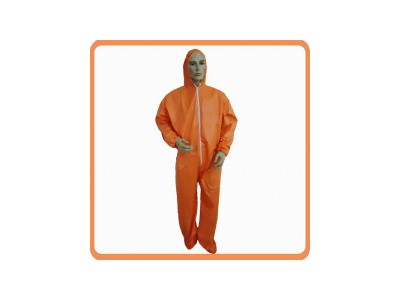 橘色无纺布防护服