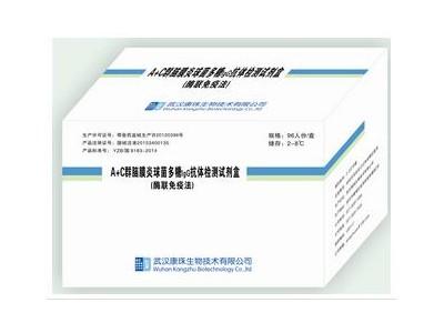 A+C群脑膜炎球菌多糖抗体检测试剂盒