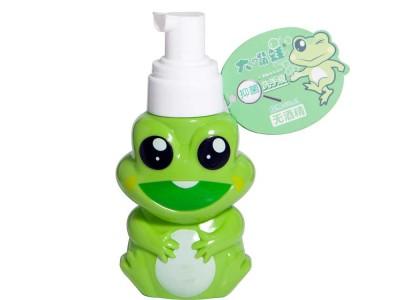 大嘴蛙无酒精免洗泡沫抑菌洗手液