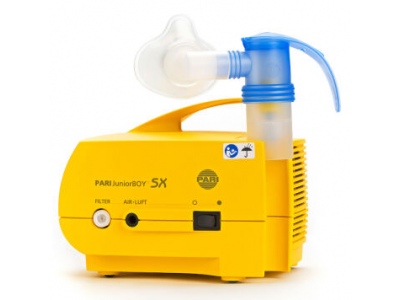 PARI雾化器 JuniorBOY SX 儿童医用家用雾化机 德国进口压缩式雾化泵 儿童专款百瑞雾化器3305
