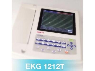 捷铂仕十二道彩色触屏按键心电图机 EKG1212T